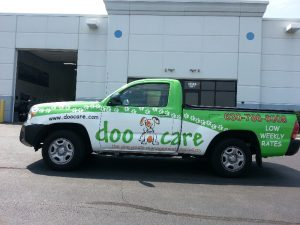 Orlando Commercial Truck Wraps doo care drivers 300x225